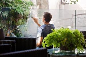 vinduespudser haslev som vinduesvasker